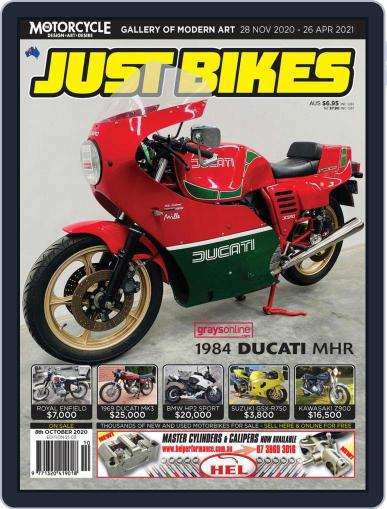 Just Bikes Magazine (Digital) October 8th, 2020 Issue Cover