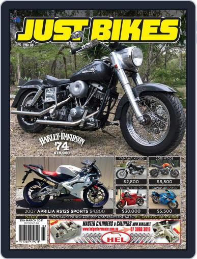 Just Bikes Magazine (Digital) March 25th, 2021 Issue Cover