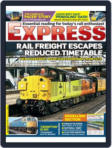 Rail Express Magazine (Digital) August 1st, 2021 Issue Cover