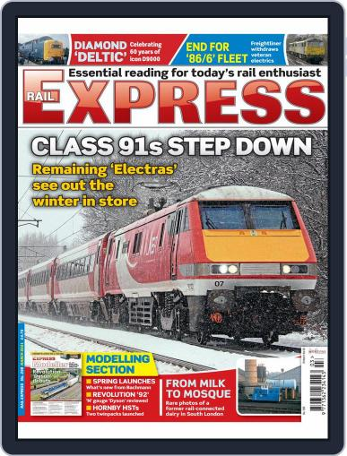 Rail Express Magazine (Digital) March 1st, 2021 Issue Cover