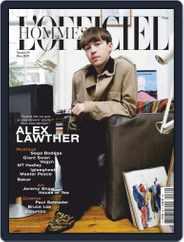 L'officiel Hommes Paris Magazine (Digital) Subscription March 1st, 2020 Issue