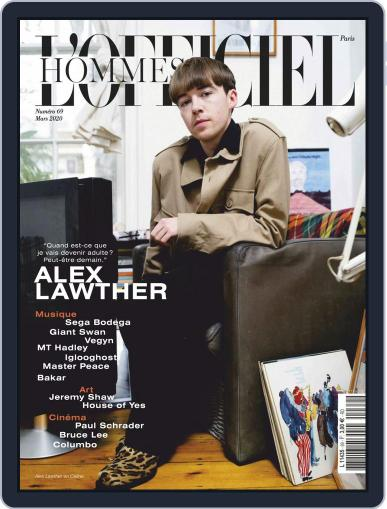 L'officiel Hommes Paris Magazine (Digital) March 1st, 2020 Issue Cover