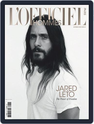 L'officiel Hommes Paris Magazine (Digital) November 1st, 2020 Issue Cover