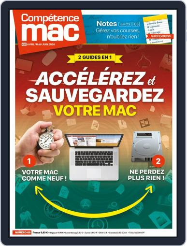 Compétence Mac (Digital) April 1st, 2020 Issue Cover