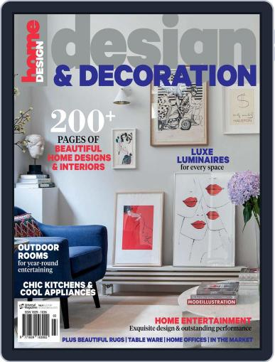 Design And Decoration June 1st, 2016 Digital Back Issue Cover