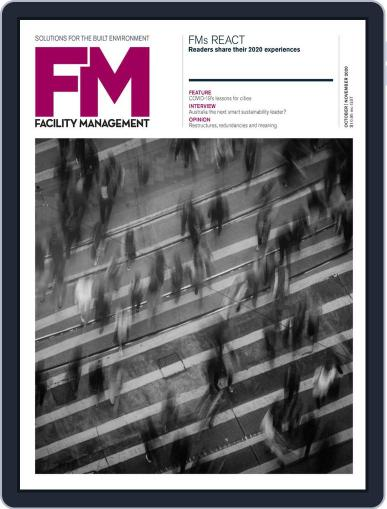 Facility Management Magazine (Digital) September 1st, 2020 Issue Cover