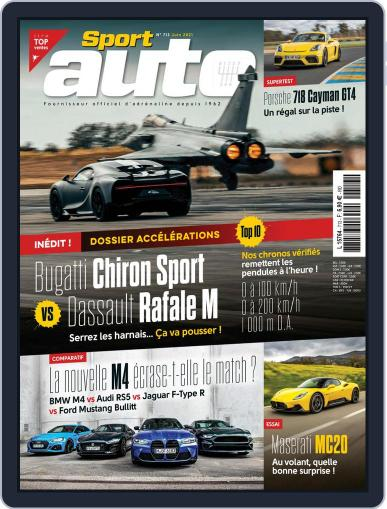 Sport Auto France Magazine (Digital) June 1st, 2021 Issue Cover