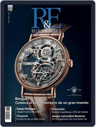 R&E - Relojes & Estilo Magazine (Digital) March 1st, 2021 Issue Cover