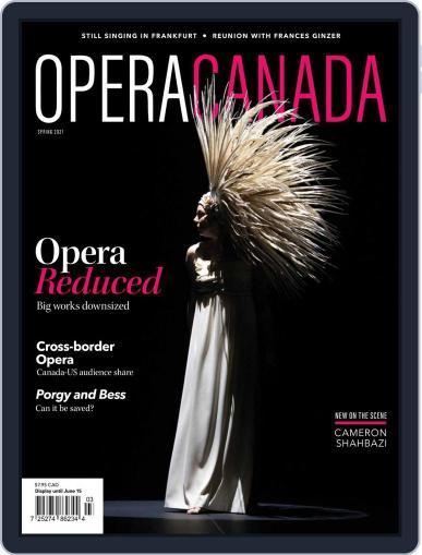 Opera Canada Magazine (Digital) March 8th, 2021 Issue Cover