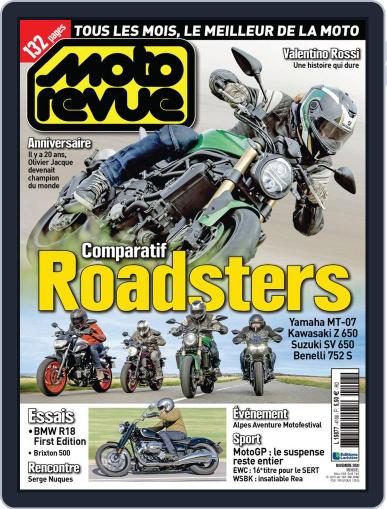 Moto Revue Magazine (Digital) November 1st, 2020 Issue Cover