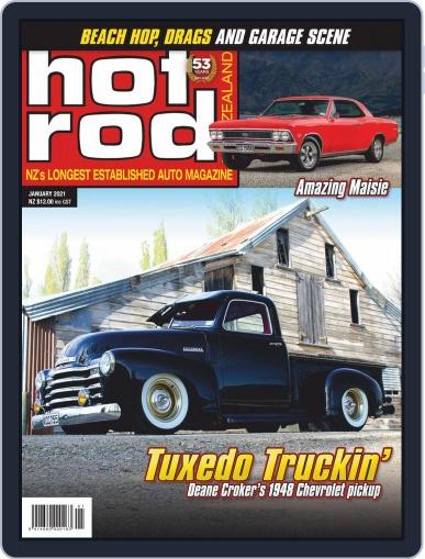 NZ Hot Rod Magazine (Digital) January 1st, 2021 Issue Cover