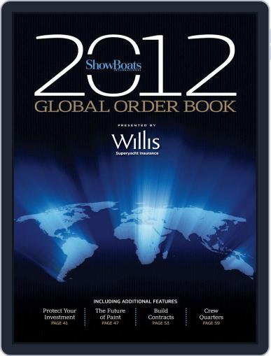 The Show Boats International Global Order Book Magazine (Digital) January 11th, 2012 Issue Cover