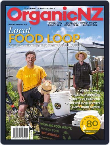Organic NZ Magazine (Digital) January 1st, 2021 Issue Cover