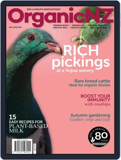 Organic NZ Magazine (Digital) May 1st, 2021 Issue Cover