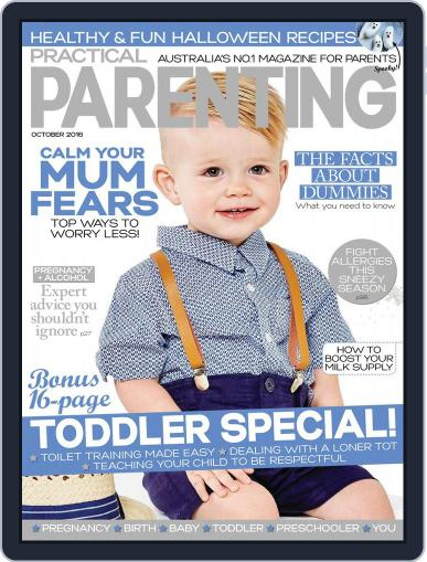 Practical Parenting Australia October 1st, 2016 Digital Back Issue Cover
