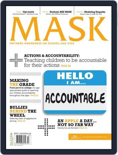 Mask The Magazine (Digital) August 28th, 2020 Issue Cover