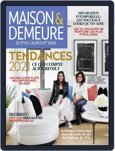 Maison & Demeure January 1st, 2021 Digital Back Issue Cover