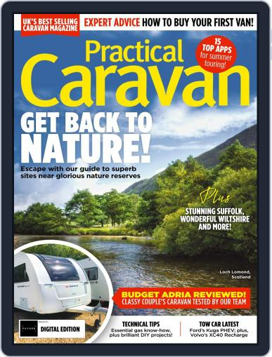 Practical Caravan Magazine (Digital) October 1st, 2020 Issue Cover
