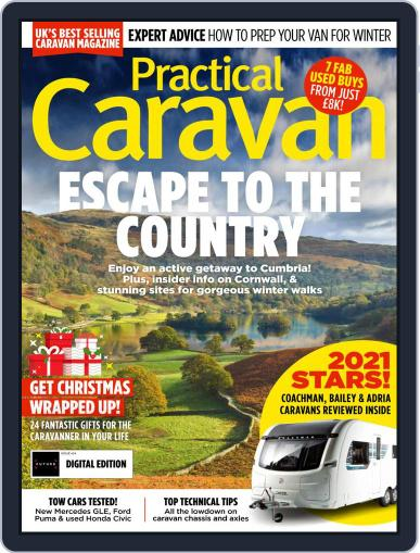 Practical Caravan Magazine (Digital) January 1st, 2021 Issue Cover