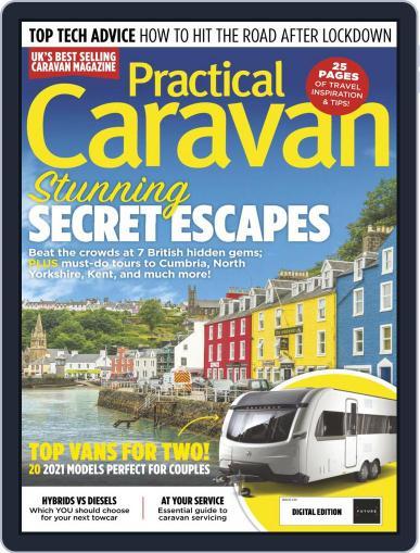Practical Caravan Magazine (Digital) June 1st, 2021 Issue Cover