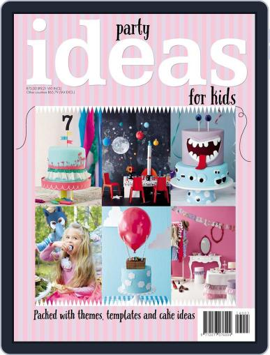Kids Party Ideas October 14th, 2014 Digital Back Issue Cover