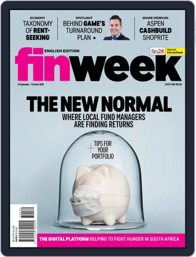 Finweek - English Magazine (Digital) September 24th, 2020 Issue Cover