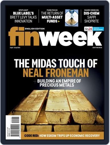 Finweek - English Magazine (Digital) April 9th, 2021 Issue Cover
