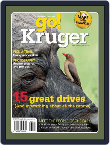 Go Kruger November 25th, 2012 Digital Back Issue Cover