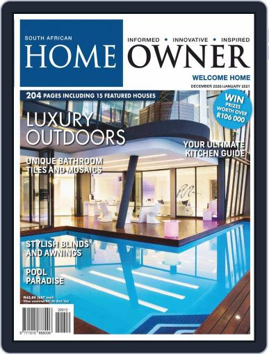 South African Home Owner Magazine (Digital) December 1st, 2020 Issue Cover