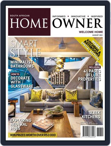 South African Home Owner Magazine (Digital) August 1st, 2021 Issue Cover