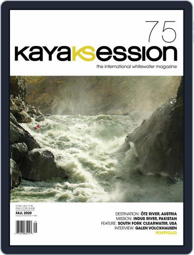 Kayak Session Magazine (Digital) July 15th, 2020 Issue Cover