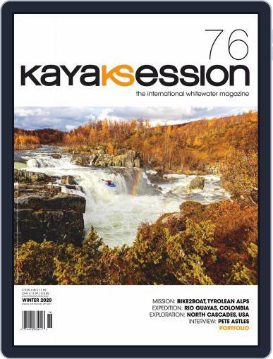 Kayak Session Magazine (Digital) November 1st, 2020 Issue Cover