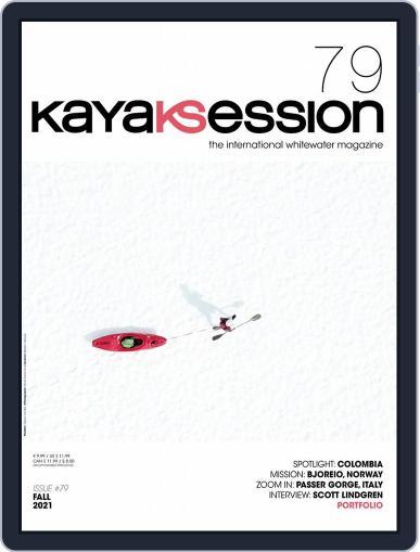 Kayak Session Magazine (Digital) September 1st, 2021 Issue Cover