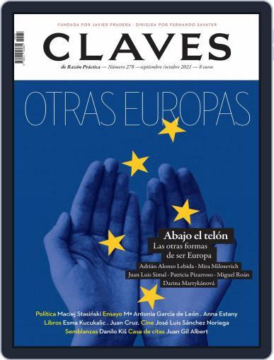Claves De La Razón Práctica Magazine (Digital) September 1st, 2021 Issue Cover