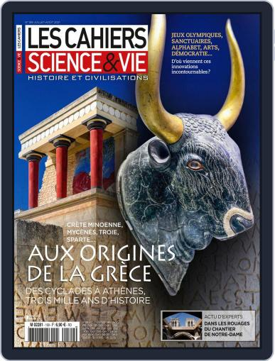 Les Cahiers De Science & Vie Magazine (Digital) July 1st, 2021 Issue Cover