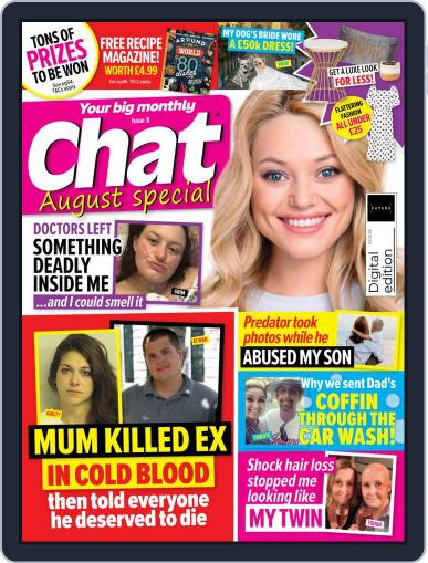 Chat Specials Magazine (Digital) August 1st, 2021 Issue Cover