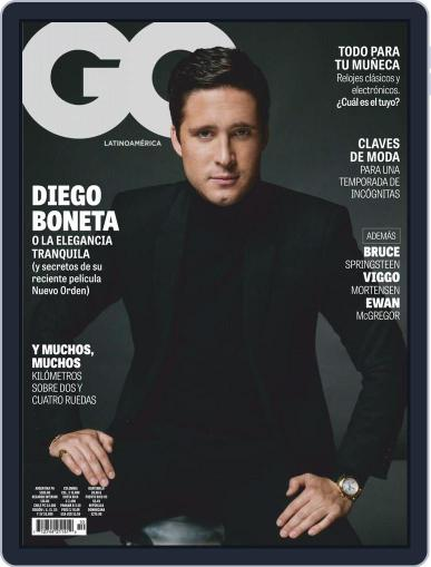 Gq Latin America Magazine (Digital) November 1st, 2020 Issue Cover