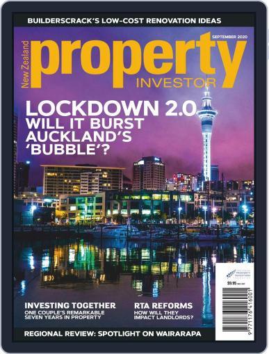 NZ Property Investor Magazine (Digital) September 1st, 2020 Issue Cover