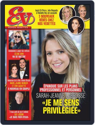Échos Vedettes Magazine (Digital) December 4th, 2020 Issue Cover