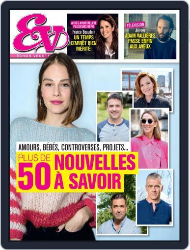 Échos Vedettes Magazine (Digital) April 10th, 2021 Issue Cover