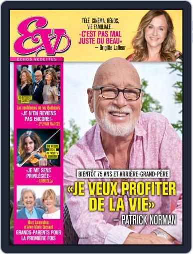 Échos Vedettes Magazine (Digital) July 24th, 2021 Issue Cover