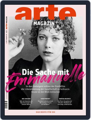 Arte Magazin Magazine (Digital) June 1st, 2021 Issue Cover