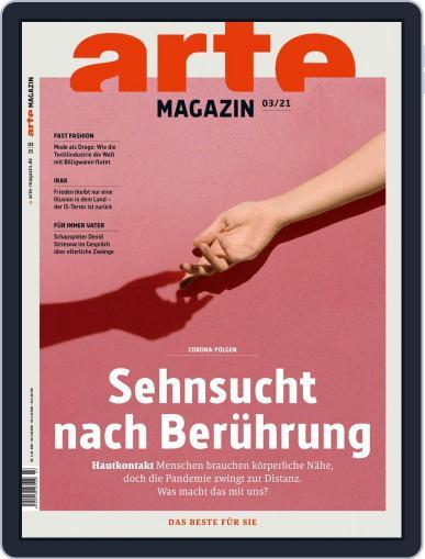Arte Magazin Magazine (Digital) March 1st, 2021 Issue Cover