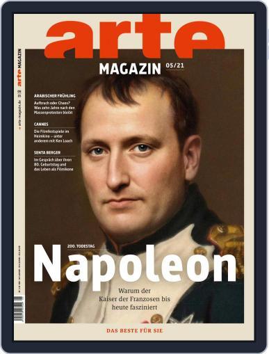 Arte Magazin Magazine (Digital) May 1st, 2021 Issue Cover