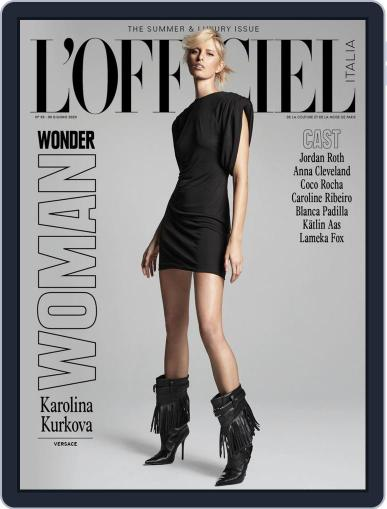 L'officiel Italia Magazine (Digital) July 2nd, 2020 Issue Cover
