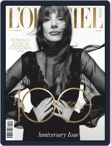 L'officiel Italia Magazine (Digital) September 6th, 2021 Issue Cover