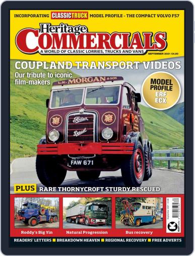Heritage Commercials Magazine (Digital) September 1st, 2021 Issue Cover