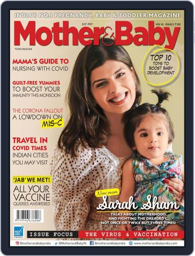 Mother & Baby India Magazine (Digital) July 1st, 2021 Issue Cover