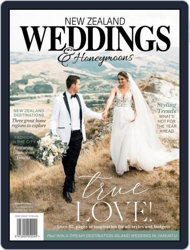 New Zealand Weddings Magazine (Digital) October 1st, 2020 Issue Cover