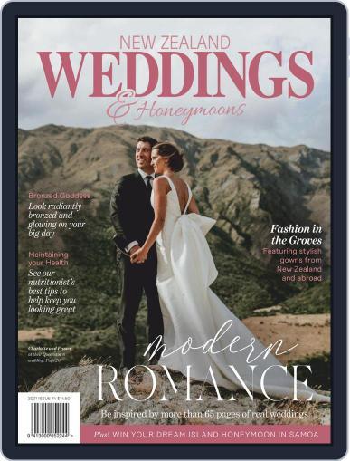 New Zealand Weddings Magazine (Digital) January 14th, 2021 Issue Cover
